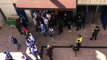 Derbi canario: la afición entra al Estadio de Gran Canaria