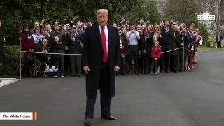 Trump: Watch My Case Against Impeachment On 'Fake News MSDNC'