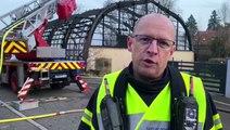 Thann : incendie de la salle de tennis