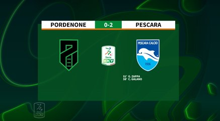 HIGHLIGHTS #PordenonePescara 0-2 #SerieBKT