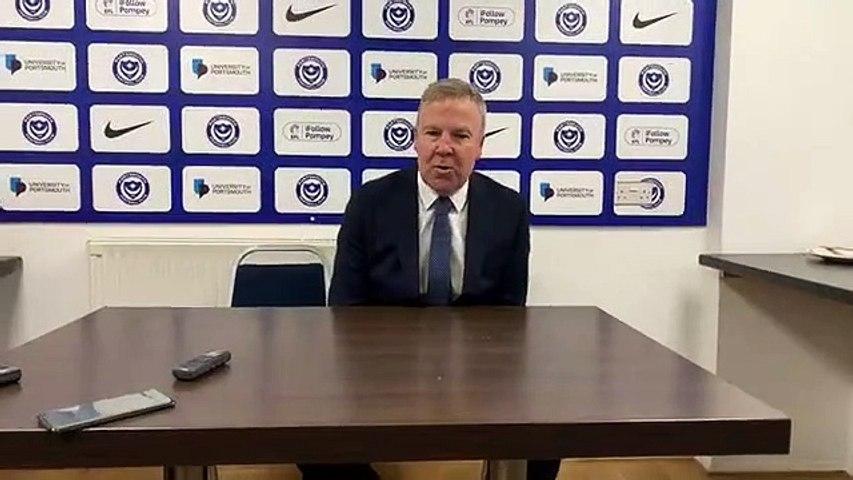 Kenny Jackett post Barnsley FA Cup win