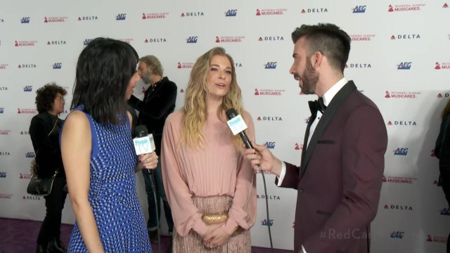 LeAnn Rimes Opens Up About Her Stepsons and Whether They'll Go to Grammys Parties with Her