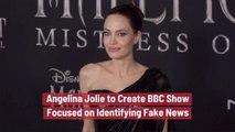 Angelina Jolie Is Focused On Fake News