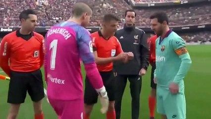 Barcelone s'écroule contre Valence (2-0)