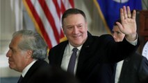 Pompeo Accuses Reporter For Breaking Rules Of Journalism