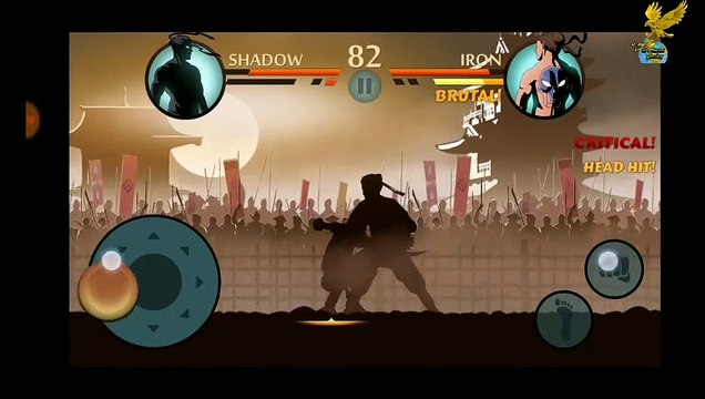 #shadowfight#shadowfight2 Shadow Fight2:- shadow vs iron, torn and mad man android gameplay