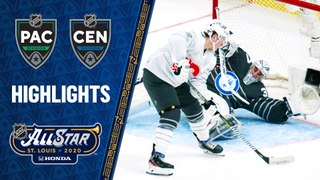 Hertl's four goals power Pacific All-Stars past Central