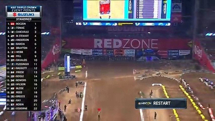 AMA SuperCross 2020 Glendale  450 SX Main Event 2 Race HD