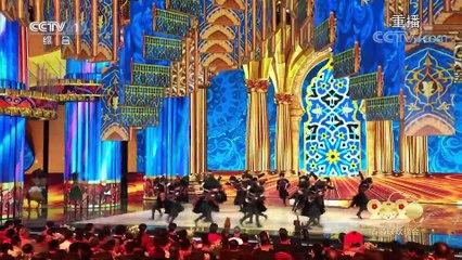 [2020央视春晚]舞蹈《一带一路嘉年华》表演俄罗斯莫伊谢耶夫学院舞蹈团喀麦隆阿蓓舞团阿塞拜疆国立学院舞蹈团印度《泰姬快车》舞蹈团吉林市歌舞团完整版