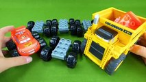 Mega Bloks Blaze and the Monster Machines Disney Cars Lightning McQueen Colossus XXL Fun Wrong Toys