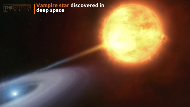 Vampire star discovered in deep space