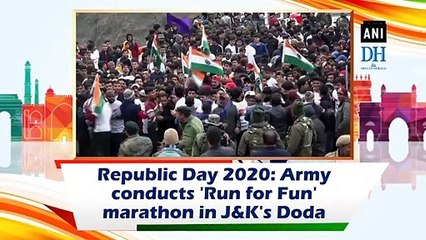 Republic Day 2020: Army conducts 'Run for Fun' marathon in J&K's Doda