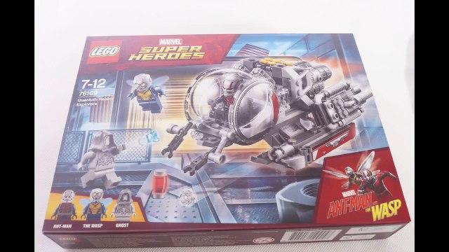 LEGO 76109 ANT-MAN AND THE WASP Quantum Realm Explorers - Speed Build