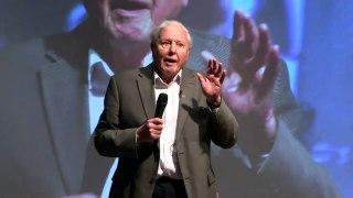 David Attenborough warns politicians on climate change