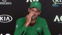 "Open d'Australie 2020 - Novak Djokovic : ""I don't force my kids to play tennis"""