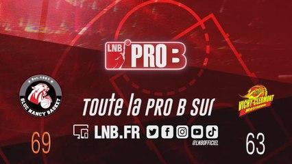 PRO B : Nancy vs Vichy-Clermont (J16)