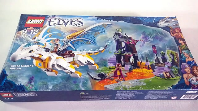 LEGO Elves 41179 Queen Dragon's Rescue Speed Build
