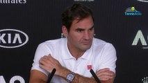 """Open d'Australie 2020 - Roger Federer et """"ses démons"""" : """"Je ne sais pas si vous comprendrez un jour mais on ne fait pas que penser au tennis"""""""