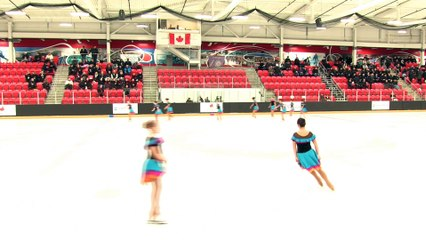 Juvenile - Skate 2 - 2020 Mountain Regional Synchronized Skating Championships