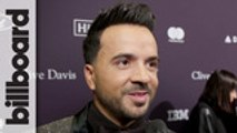 Luis Fonsi Discusses His Grammy Nomination, Reflects Upon 'Despacito' Success & Teases New Music  at Clive Davis' Pre-Grammy Gala   Billboard
