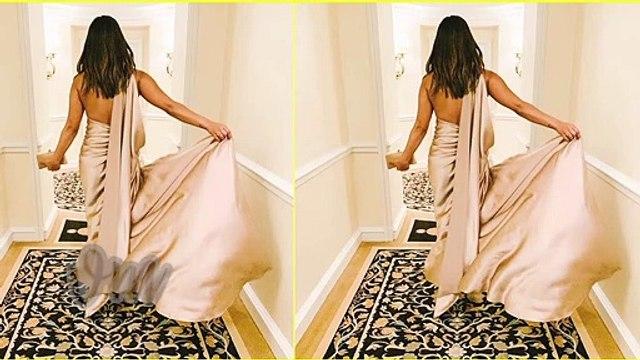 Priyanka Chopra Stunning Look At The Red Carpet Of Pre Grammy Party