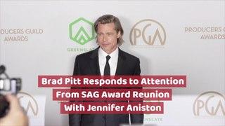 Brad Pitt Goes Viral With Jennifer Aniston
