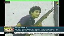 El Salvador: general reconoce que ejército masacró a civiles en 1981