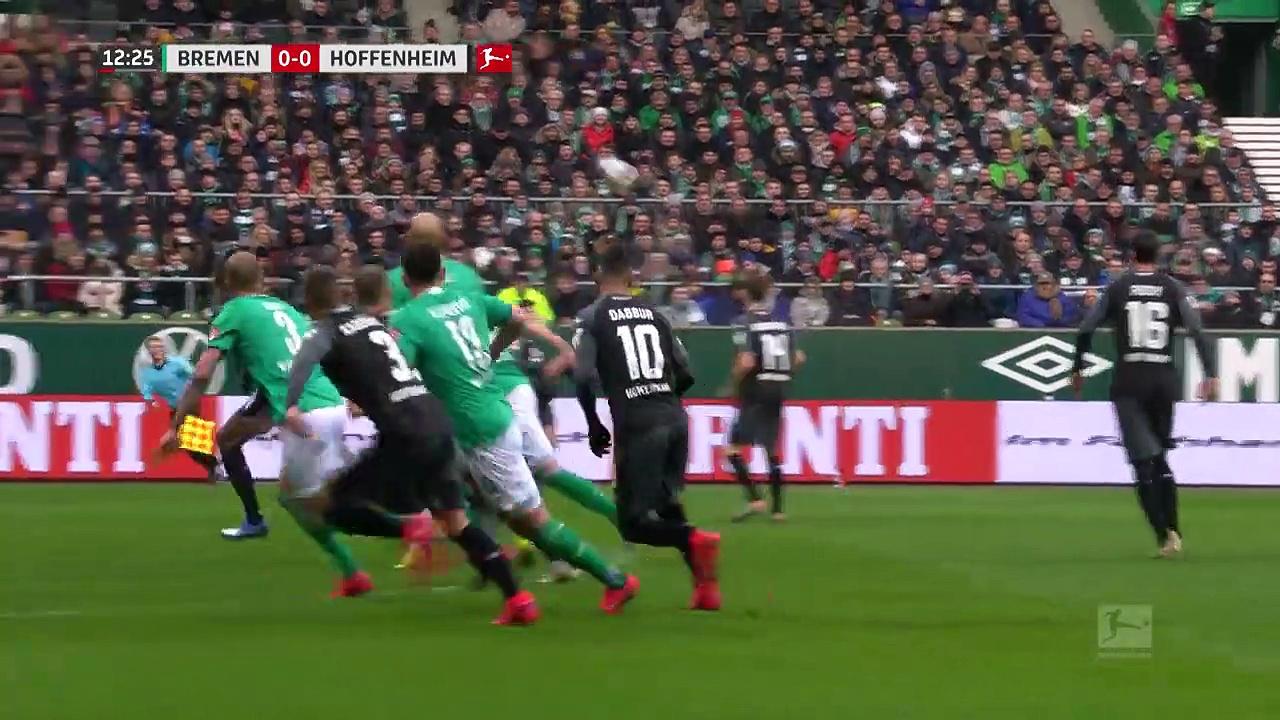 Werder Bremen - Hoffenheim (0-3) - Maç Özeti - Bundesliga 2019/20