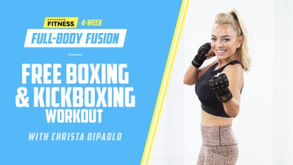 Free Preview of Boxing and Kickboxing Workout From 4-Week Full-Body Fusion