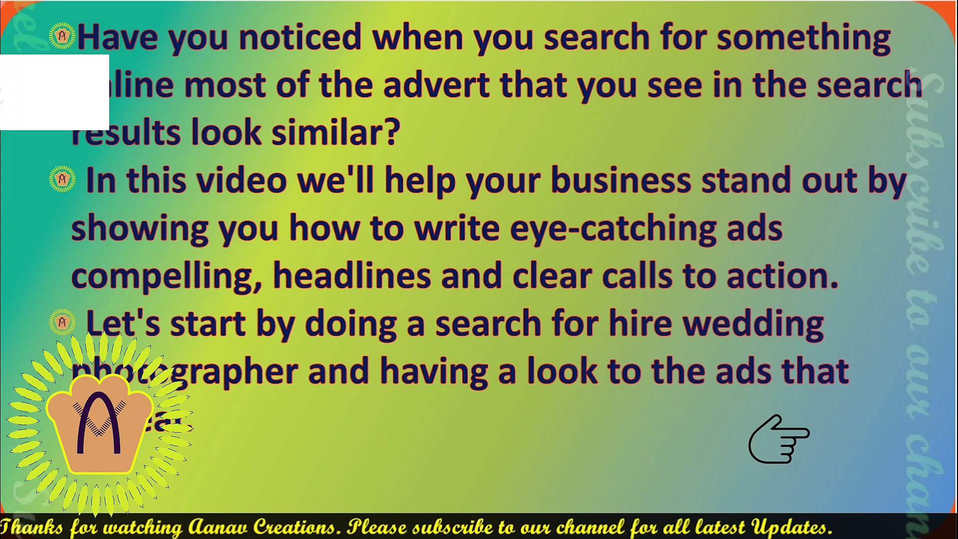 Make your ads stand out in Digital Marketing | Apni Ads Kaise Bnaye |  @Aanav Creations