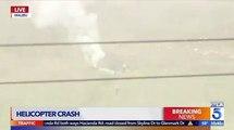 Décès de Kobe Bryant : Les images du crash de son hélicoptère