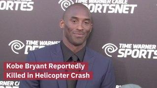 BREAKING: Kobe Bryant Dies In A Helicopter Crash