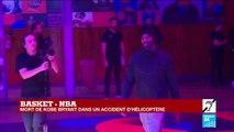 Kobe Bryant est mort dans un accident d'hélicoptère
