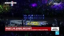 """""""Virtuose du basketball"""" : Mort de Kobe Bryant, la star de la NBA, décédé dans un accident d'hélicoptère"""