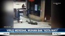Rekaman CCTV Warga Wuhan Terjatuh Diduga Terjangkit Virus Corona