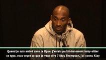NBA - Quand Kobe Bryant se remémorait ses 20 ans de carrière