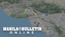 UGC animation of flight path of Kobe Bryant's helicopter