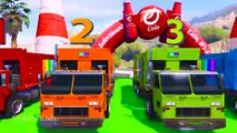 LEARN COLORS for Children W Spiderman and Superheroes Cycles Racing w Street Vehicles for Kids Ep 36