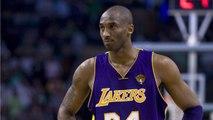 Kobe Bryant's Jerseys Get Lit Up At Staples Center