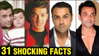 Bobby Deol 31 SHOCKING AND INTERESTING Facts | Gupt, Soldier, Marriage | Dharmendra, Sunny Deol