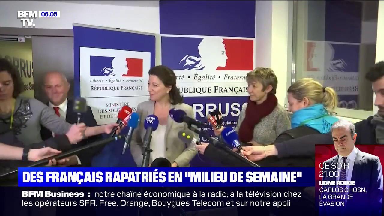 """Coronavirus: les Français résidant à Wuhan pourront être rapatriés """"en milieu de semaine"""""""