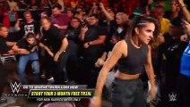 Tegan Nox attacks Dakota Kai in the crowd, sparking an ugly brawl- WWE Worlds Collide, Jan. 25, 2020
