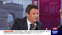 """Pour Benjamin Griveaux, Emmanuel Macron lui """"a clairement exprimé"""" son soutien pour la mairie de Paris"""