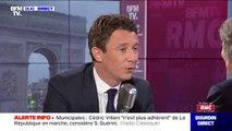 """Municipales à Paris: Benjamin Griveaux """"a entendu l'envie de s'engager"""" d'Agnès Buzyn"""