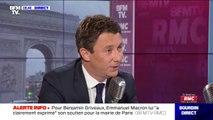 """Benjamin Griveaux veut déménager la gare de l'est et la remplacer par """"un parc"""" de 30 hectares"""