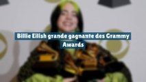 Billie Eilish grande gagnante des Grammy Awards