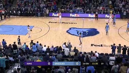 Phoenix Suns 109 - 114 Memphis Grizzlies