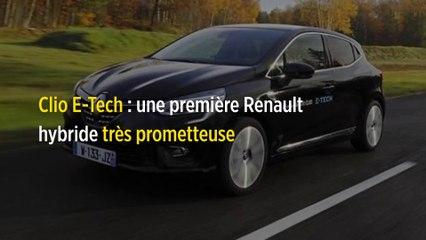 Clio E-Tech : une première Renault hybride très prometteuse