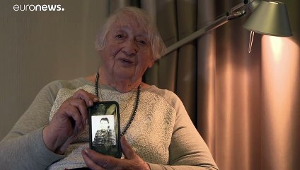 Une survivante d'Auschwitz raconte au 75ème anniversaire de la libération du camp