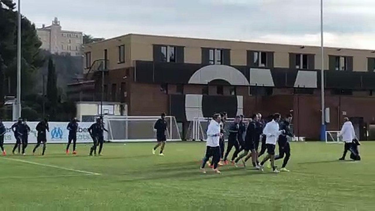 OM : les Olympiens à l'entraînement sans Benedetto, Alvaro, Radonjic et Thauvin